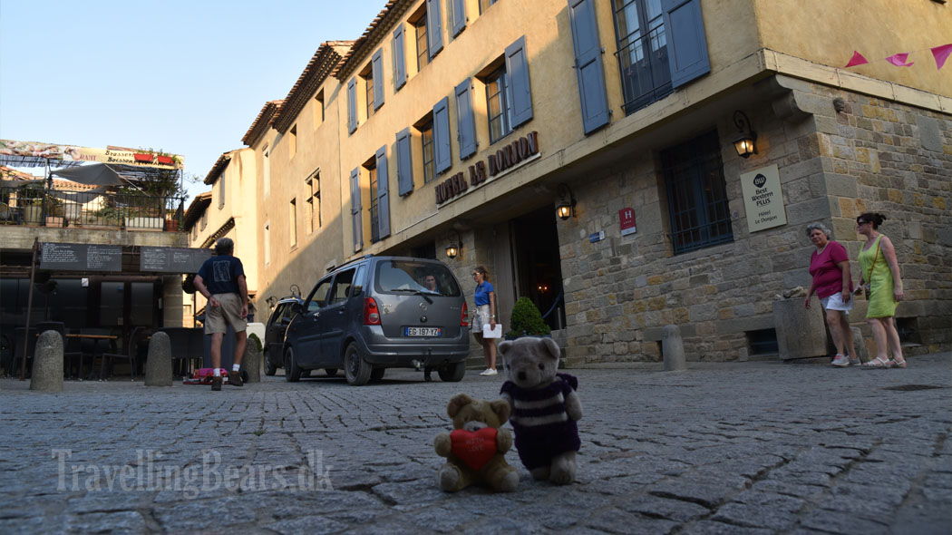 Travelling Bears in Carcasonne, France