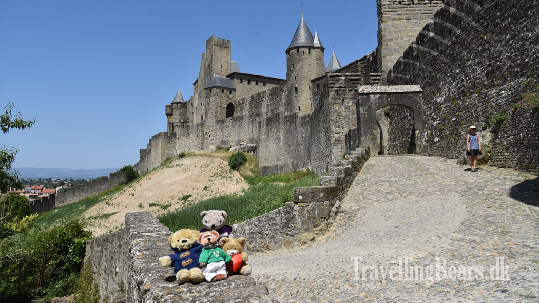 Travelling Bears in  				Carcasonne, Provence