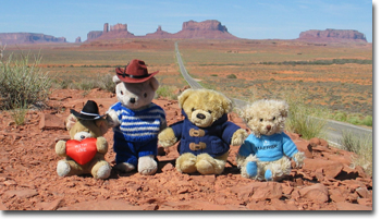 The Travelling Bears in the Wild West