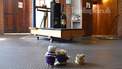 Travelling Bears at the Korbel Winery in California